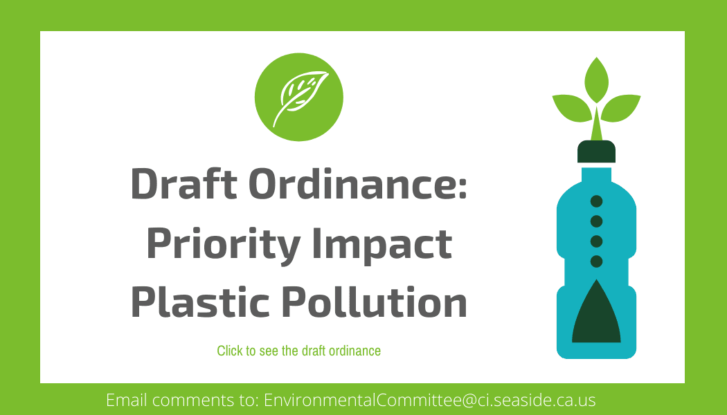 Draft Ordinance_ Priority Impact Plastic Pollution