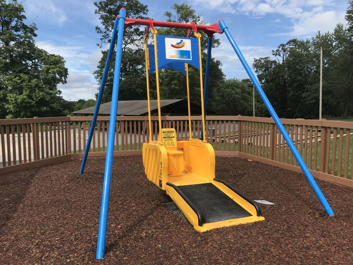 Photo of Wheelchair Accessible Swing