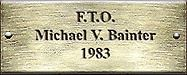 F.T.O. Michael V. Bainter 1983
