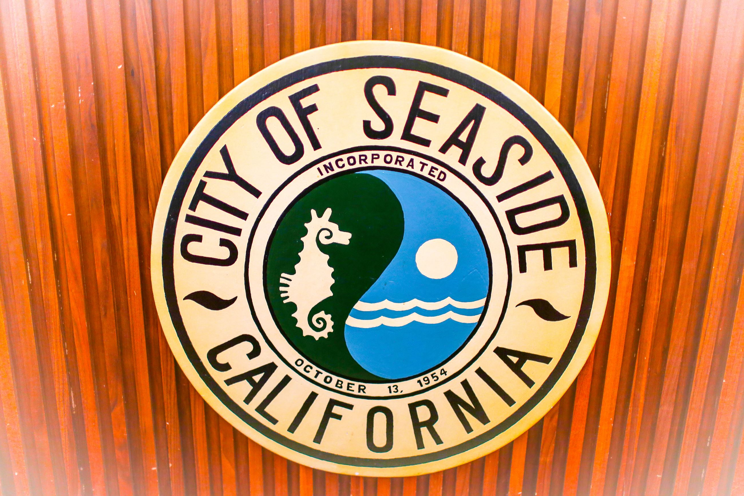 Seaside Chamber Logo