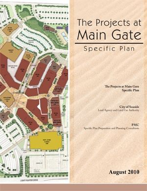 Projects at Main Gate Specific Plan Cover