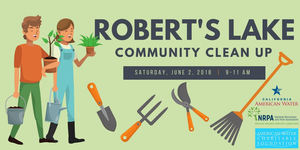Roberts Lake Community Clean Up