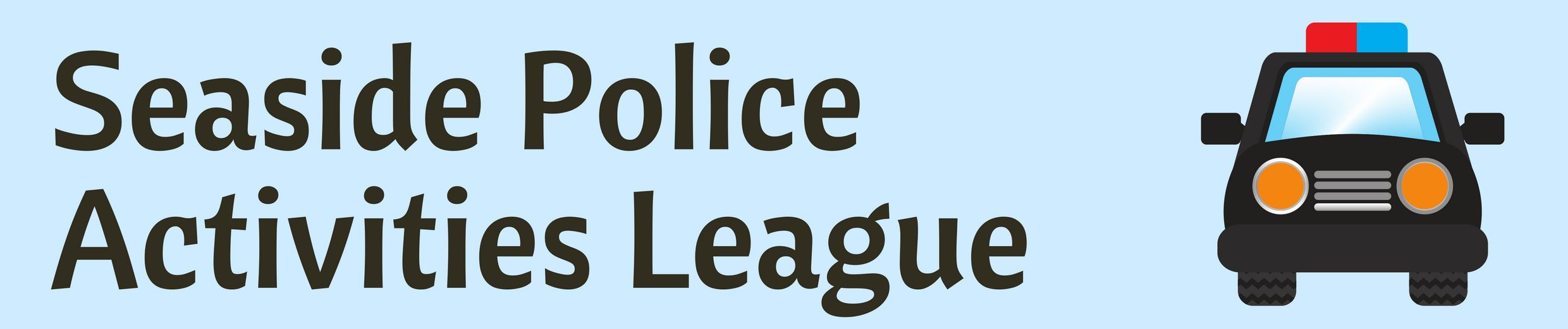 Police Activities League Banner