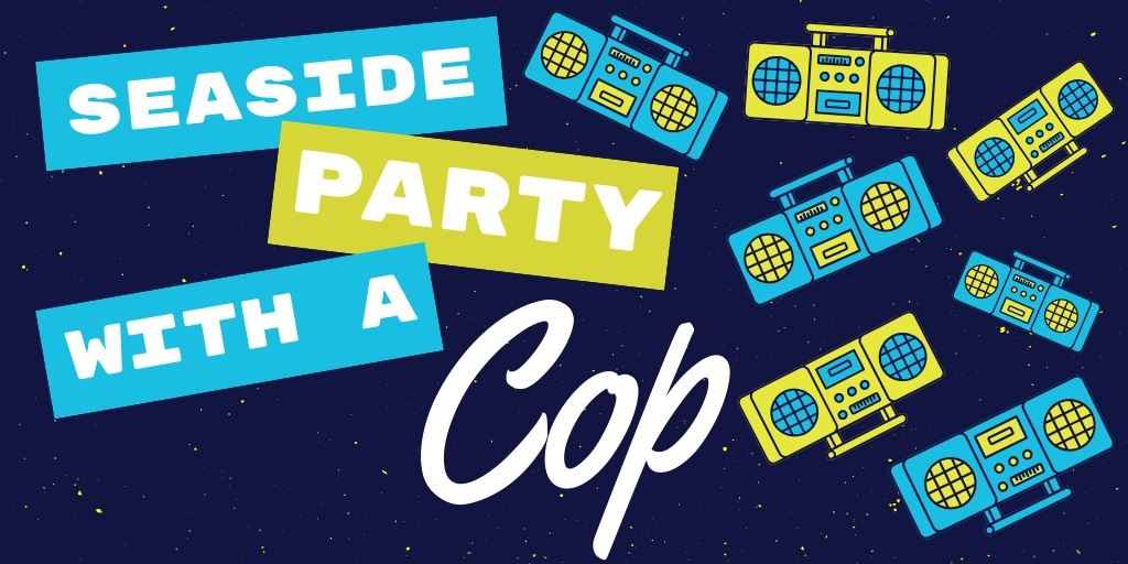 Web banner for Party with a Cop Event
