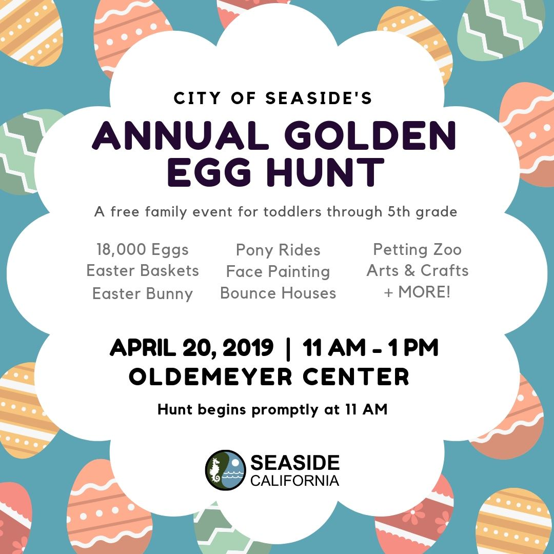 Banner for Golden Egg Hunt