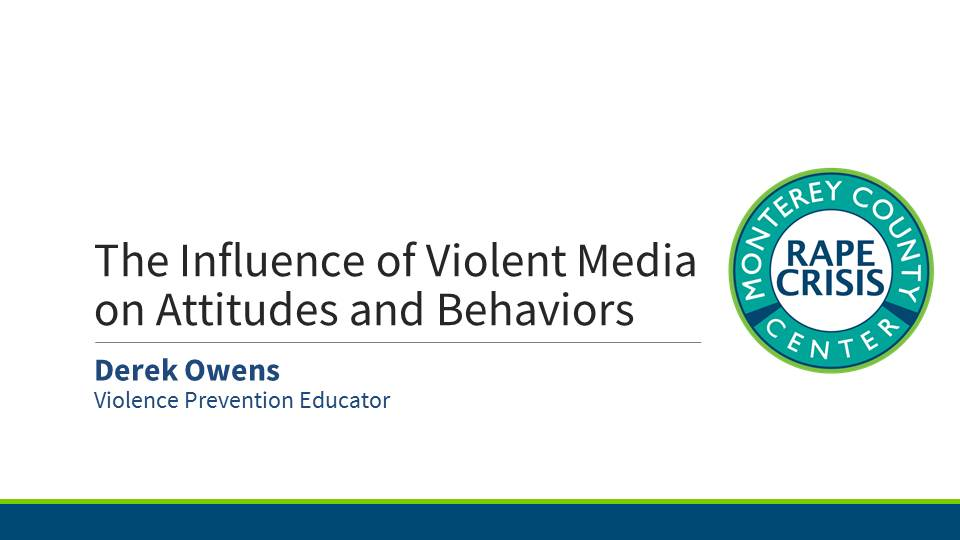 Presentation for Influence of Violent Media