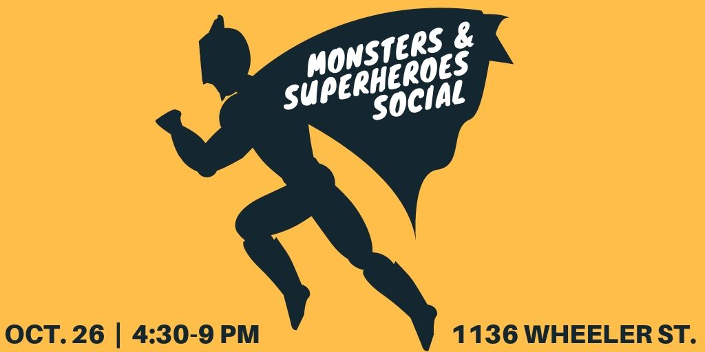 Monsters and Superheroes Social