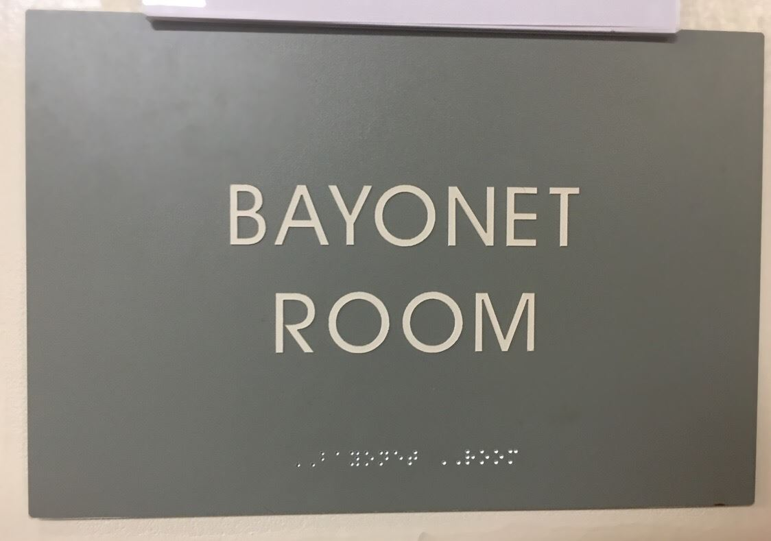 Bayonet Sign