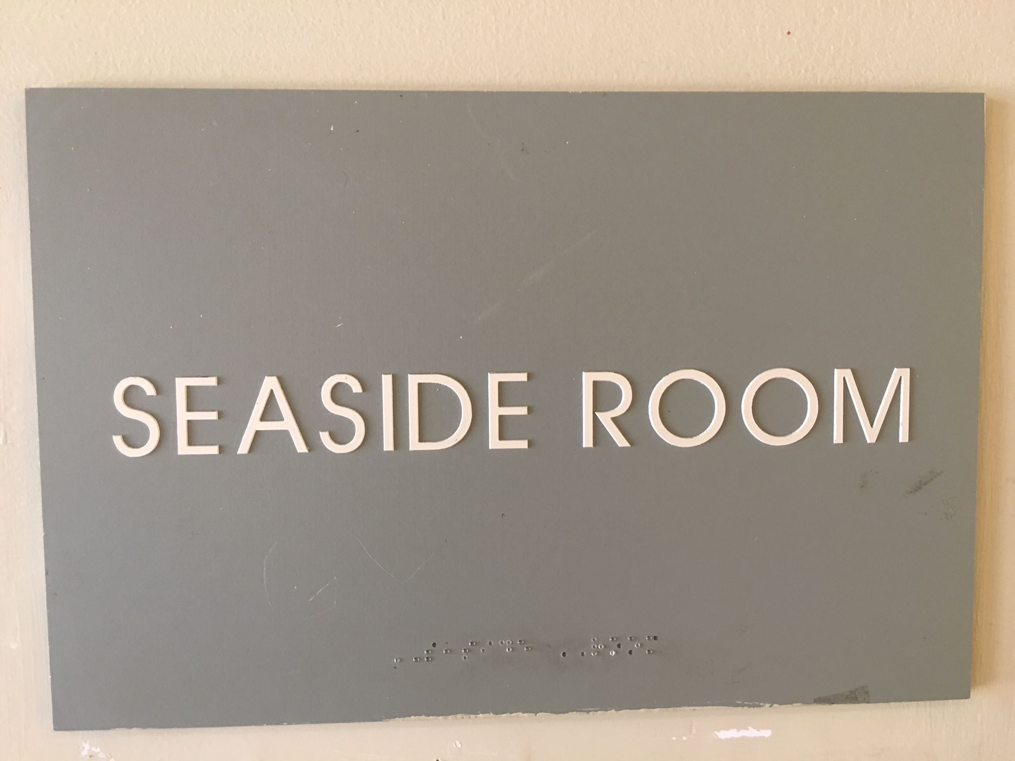 Seaside Room Sign