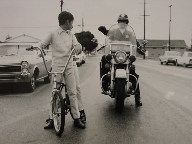 Motor Officer Jim Barnes - 1966