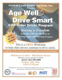 Age Well Drive Training