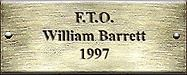F.T.O. William Barrett 1997