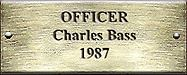 Officer Charles Bass 1987