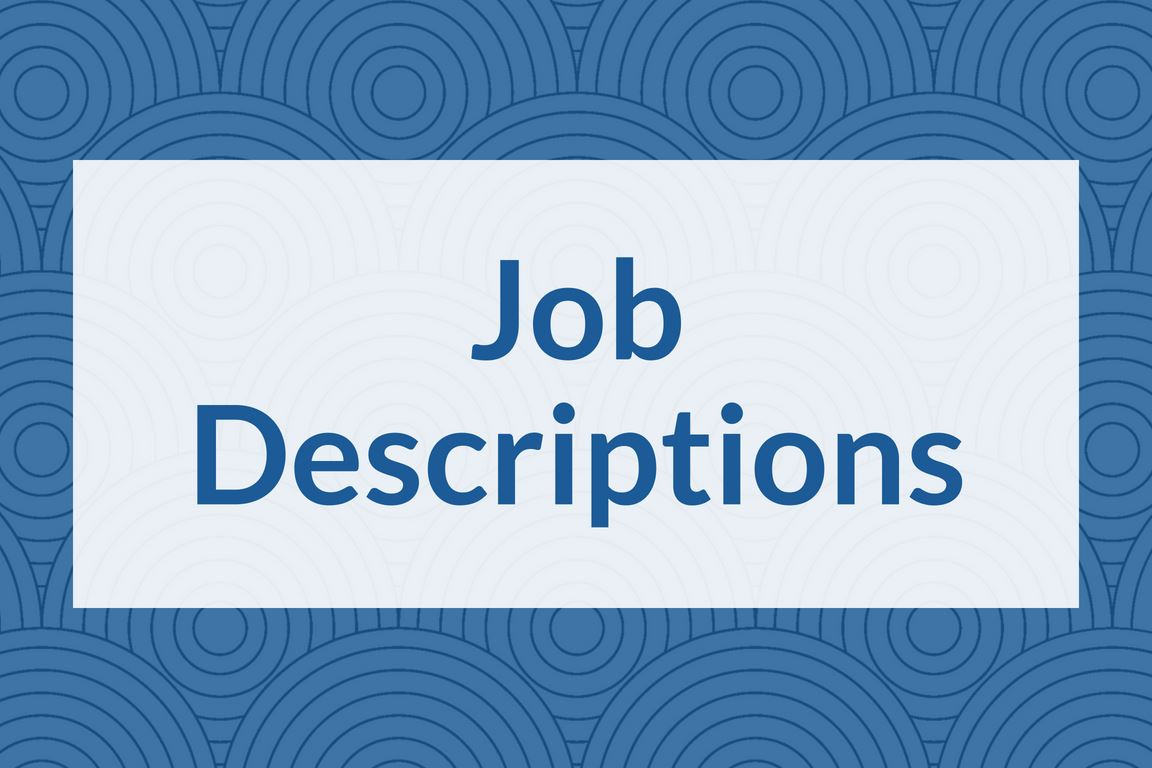 """Job Descriptions"" graphic icon"