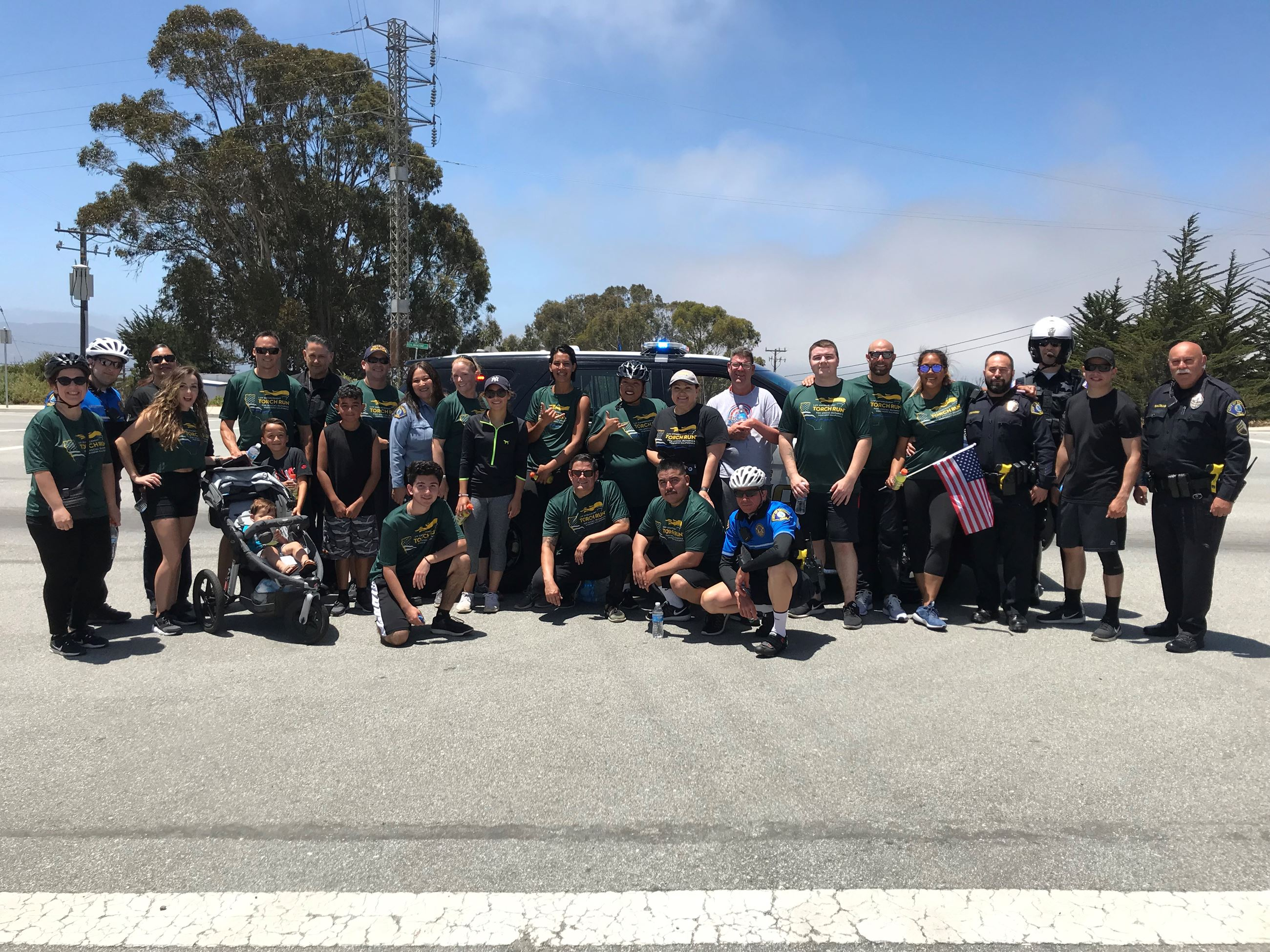 Participants of Torch Run 2018