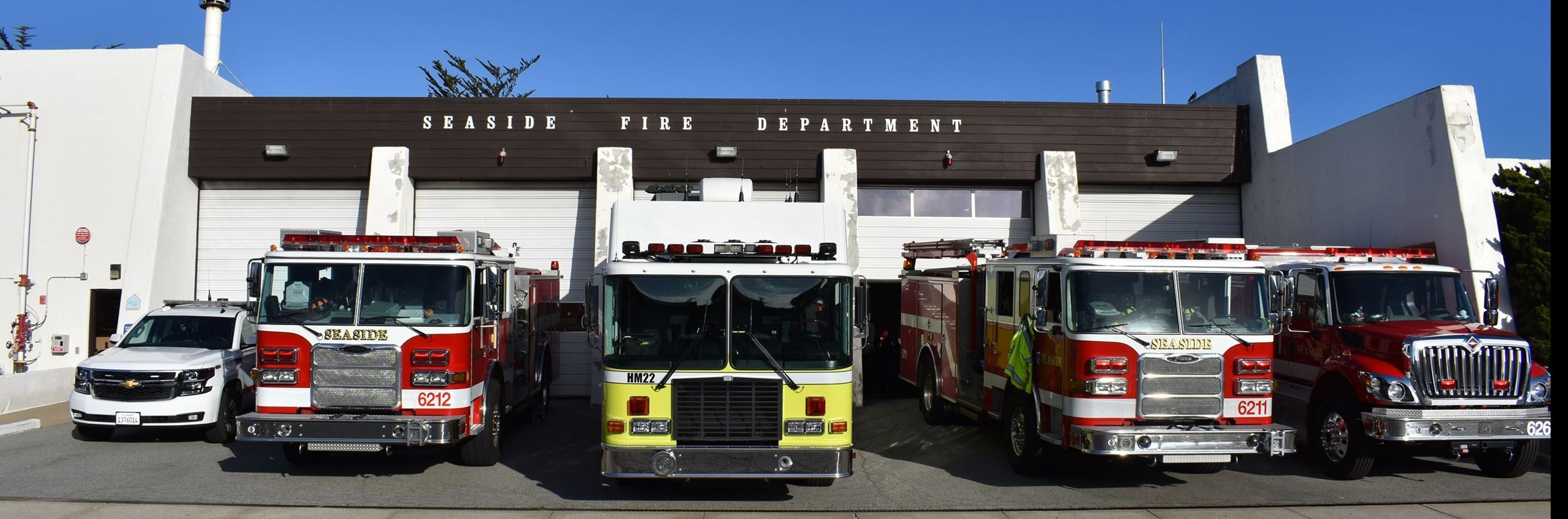 all fire department vehicles