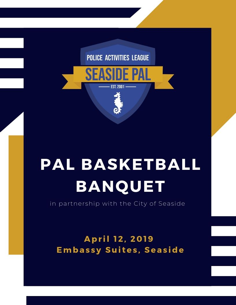 PAL Banquet Program