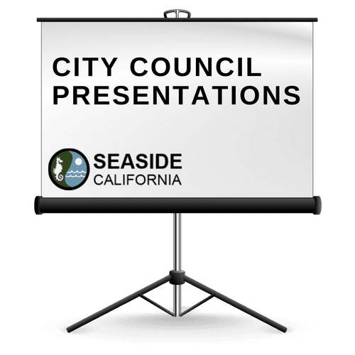 City Council Presentations