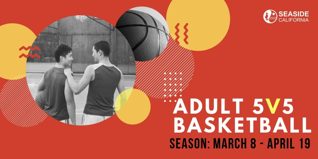 Banner for Adult 5V5 Basketball